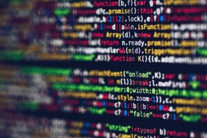 Software code image - Photo by Markus Spiske from Pexels