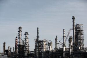 Picture of refinery